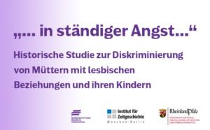 """Vorschaubild Historische Studie """"in ständiger Angst"""""""