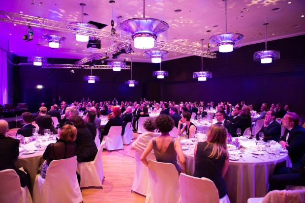 Gäste des 2. Charity Dinners am 4.9.2014 im Hotel GRAND HYATT Berlin