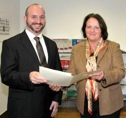 Ernennung des Vorstandes