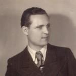 Rudolf Brazda in jungen Jahren